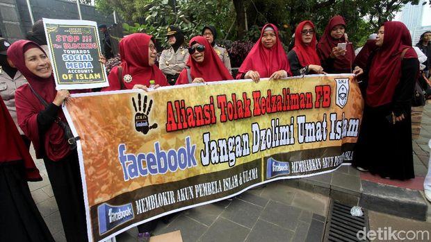 Blokir Akun Berujung Demo FPI ke Facebook