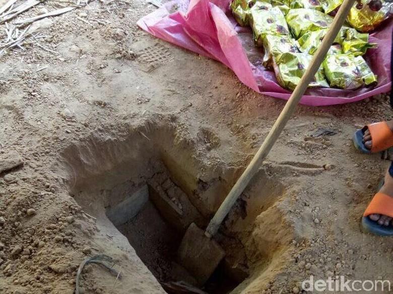 Sindikat Aceh Pengedar 40 Kg Sabu Kubur Barang Bukti