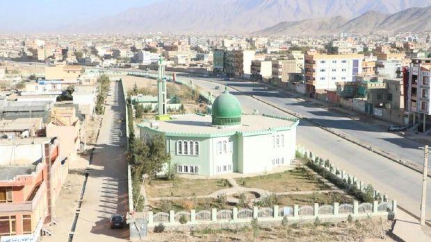 As-Salam yang artinya perdamaian, mesjid Indonesia di Afghanistan.