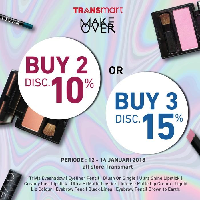 Foto: Promo Makeup di Transmart (Dok. Transmart Carrefour)