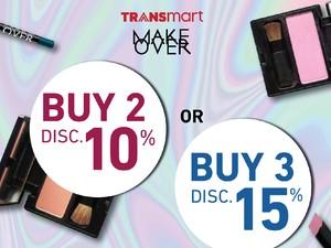 Akhir Minggu Makin Cantik dengan Promo Makeup di Transmart