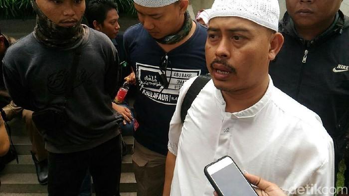 Juru bicara FPI Slamet Maarif (Samsudhuha Wildansyah/detikcom)