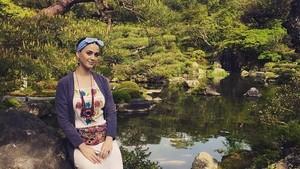 Foto: Intip Gaya Liburan Katy Perry