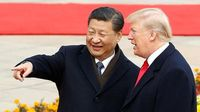 Presiden China Kirim Pesan Damai untuk Trump