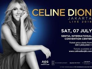 Netizen Keluhkan Tiket Konser Celine Dion Hingga Rp 12,5 Juta