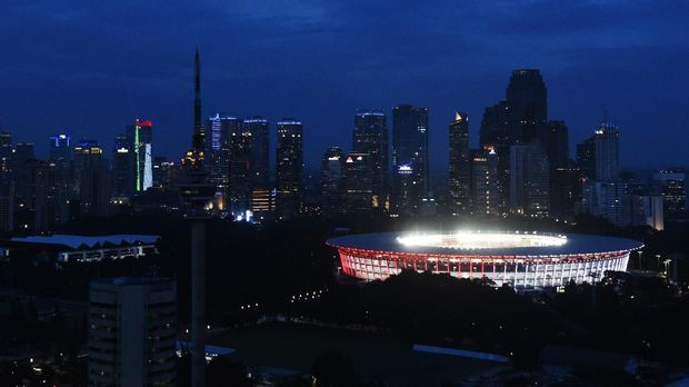 SUGBK akan menjadi venue laga Timnas Indonesia U-19 vs Taiwan malam ini.