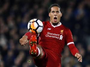 Menyalahkan Van Dijk atas Kekalahan Liverpool