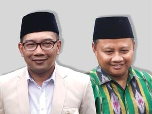 Undi Nomor Urut, Pendukung Ridwan Kamil-Uu Pakai Baju Adat Sunda