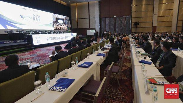 Kasus pengaturan skor tak masuk pembahasan Kongres PSSI.