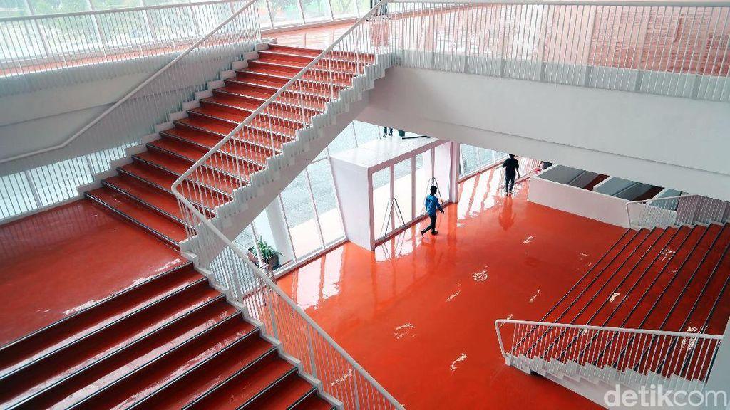 Foto: Mengilap! Detail Stadion Utama GBK