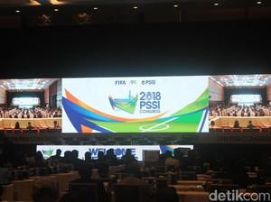 Kongres PSSI 2018 Resmi Dibuka