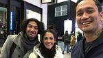 Lupakan 2017, Tora Sudiro dan Mieke Amalia Awali 2018 dengan Happy!