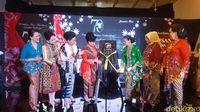 Istri Anies Baswedan Hadiri Peluncuran Buku Batik Inez Mardiana
