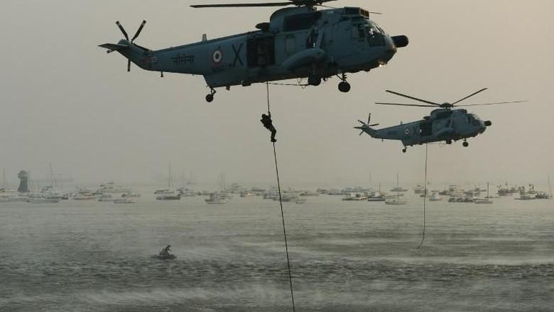 Heli di India Hilang Kontak Setelah Lepas Landas, 4 Mayat Ditemukan