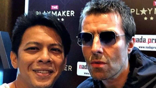 Ini Foto Ariel NOAH dan Liam Gallagher yang Bikin Heboh