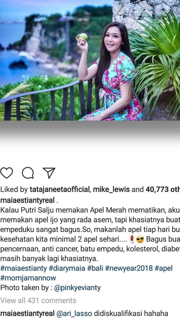 Komentar Ari Lasso di Postingan Maia Estianty Ini Bikin Heboh Netizen