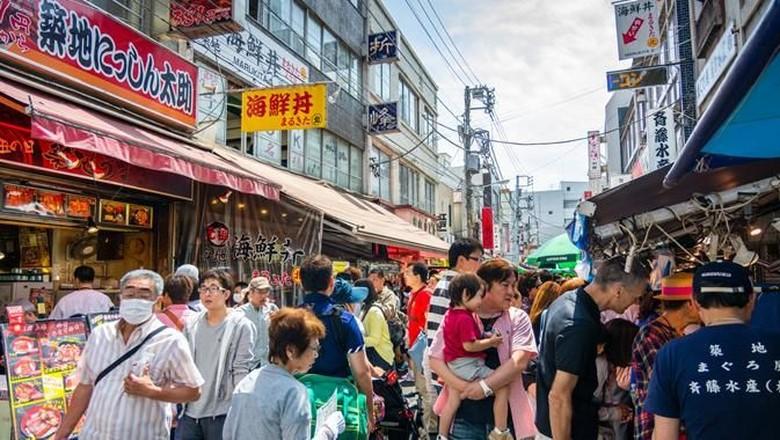 Foto: Suasana di Tokyo, Jepang (Dok. Travelweek)