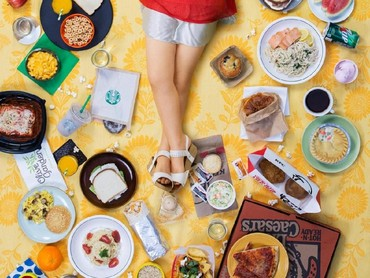 Sedangkan Nino Khaburzahia, anak 6 tahun dari West Hollywood, Calif, memakan makanan ini selama seminggu. (Foto: Gregg Segal Via Time Magazine)