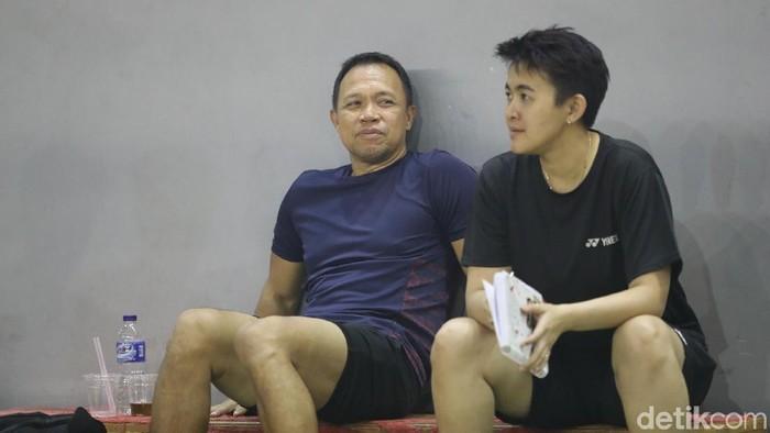 Pelatih Bulutangkis Ganda Campuran Indonesia  Richard Mainaky dan Vita Marissa