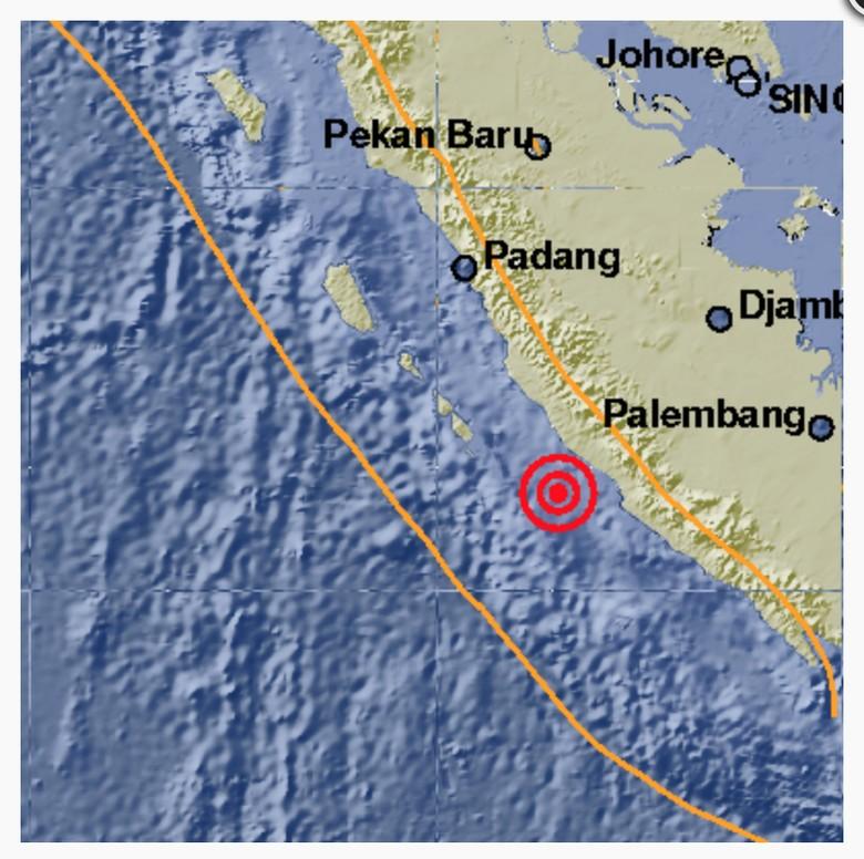 Gempa 5 SR Guncang Bengkulu Utara