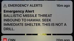 Staf Pengirim Pesan Palsu Soal Serangan Rudal di Hawaii Dipecat