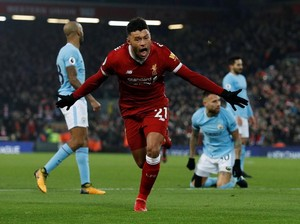 Hujan Gol di Anfield, Liverpool Kalahkan City 4-3