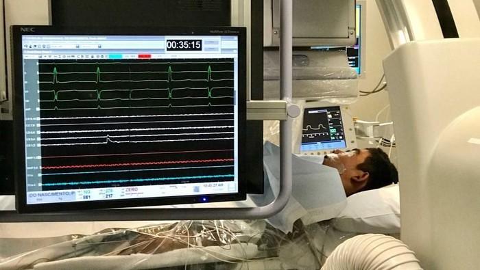 Paulo Nascimento memiliki denyut jantung 200 bpm (Foto: ABC Australia)