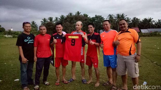 Kapolres Dharmasraya Bicara Soal Skill Mumpuni Olah Bola Bak Neymar
