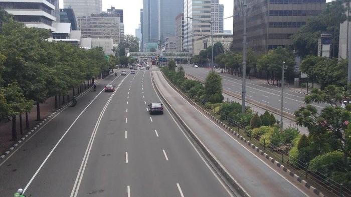 Jalan MH Thamrin 2 tahun pasca bom