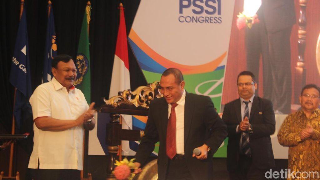 Janji Edy Rahmayadi Tidak Gunakan PSSI sebagai Alat Politik