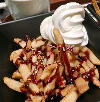 Kayak Apa Ya Rasanya French Fries Dimakan dengan Es Krim Sundae?