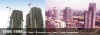 Profil Tower II BEI yang Selasarnya Ambruk, Selesai Tahun 1998