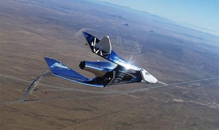 Pesawat Virgin Galactic. Foto: (Twitter)