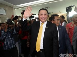 Buka Pidato, Ketua DPR Bamsoet Doakan Akom yang Dirawat di RS