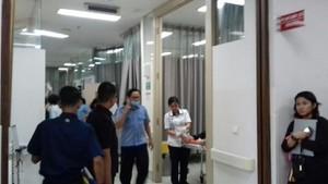 Foto: Korban Ambruknya Selasar Tower II BEI di RS Siloam