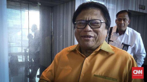 Ketua DPD sekaligus Ketua Umum Partai Hanura Oesman Sapta Odang (OSO).