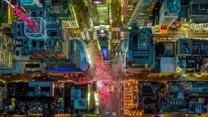 Foto: Wajah Cantik New York dari Jepretan Pilot di Pesawat