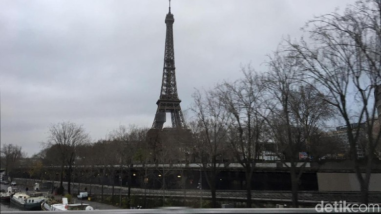 Foto: Menara Eiffel (Angga Aliya/detikTravel)