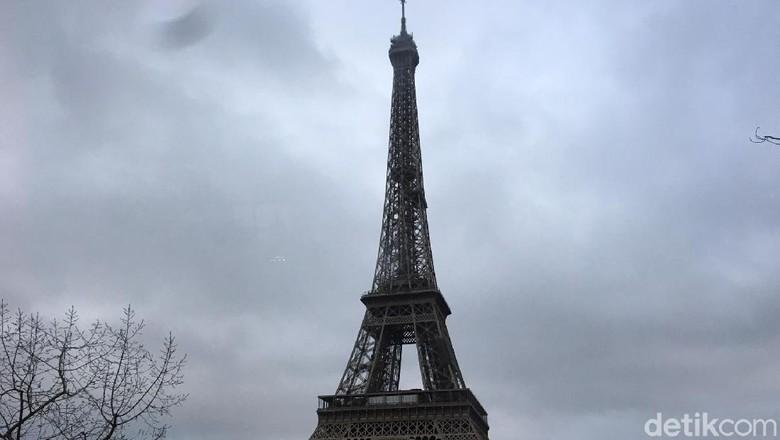 Foto: Ilustrasi menara Eiffel (Angga Aliya/detikTravel)