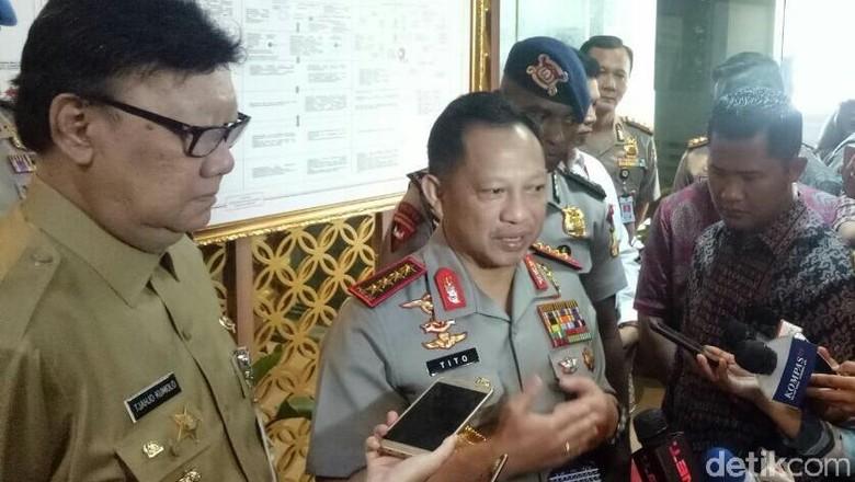Kapolri: Kalimantan Barat dan Papua Wilayah Rawan di Pilkada 2018