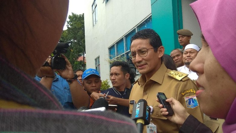 Sandi Pastikan Tugas KPK Ibu Kota Tak Bentrok dengan Inspektorat