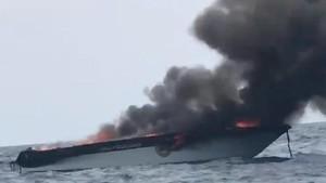 Kapal Pembawa Puluhan Turis China Meledak di Thailand
