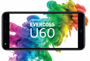 Evercoss U60, Ponsel Full Screen Rp 1 Jutaan
