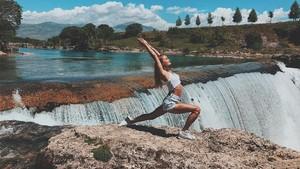 Penari Seksi Rusia Resign Demi Yoga di Berbagai Negara