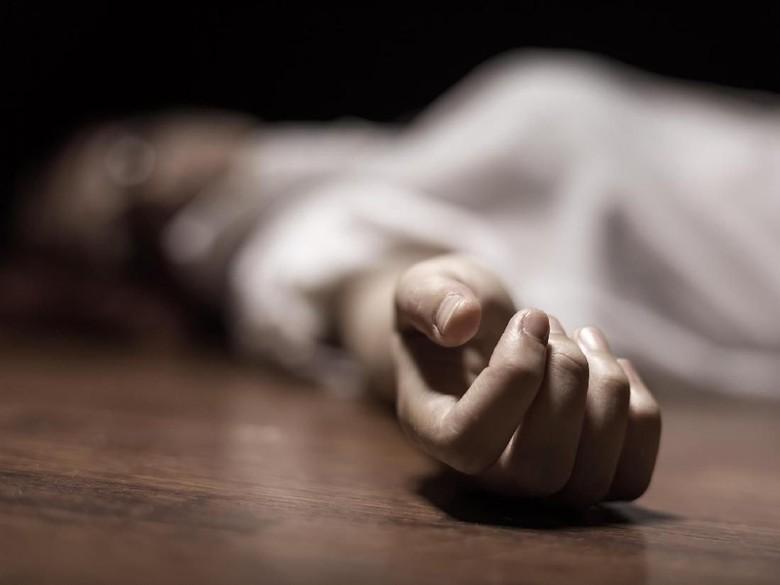 Wanita Setengah Bugil Tewas di Pinggir Sawah Sukabumi