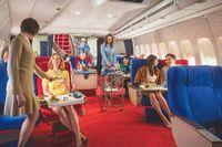 Suasana kabin yang jadul nan klasik (Facebook/The Pan Am Experience)