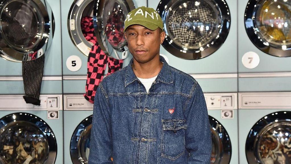Pujian Pharrell Williams untuk sang Istri Saat Mengasuh Anak