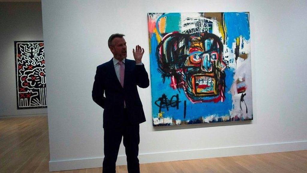 Miliarder Jepang Pinjamkan Lukisan Tengkorak Basquiat ke Museum Brooklyn