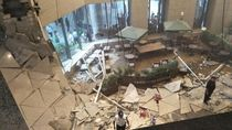 Geger Ambruknya Selasar Gedung Bursa Efek Indonesia