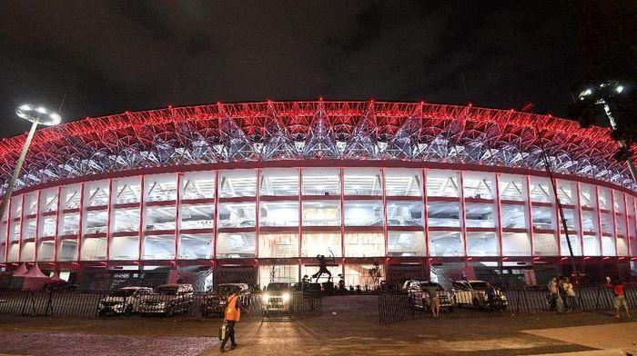 Stadion Utama Gelora Bung Karno (Foto: Sigid Kurniawan/Antara)